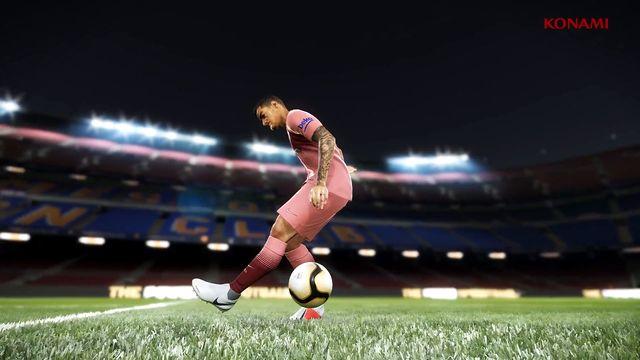 e6c6296c197c9 FC Barcelona presenta su tercera equipación en el nuevo tráiler de PES 2019  - Vandal